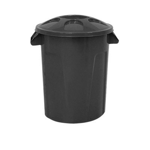 Cesto de lixo com tampa 100 litros